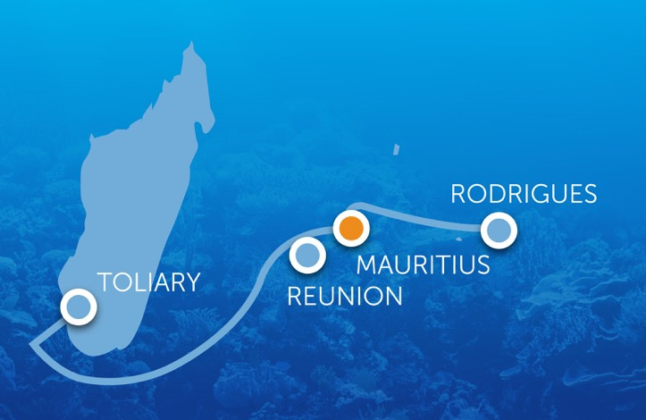 New open cable will link Mauritius and Rodrigues islands to SA and India