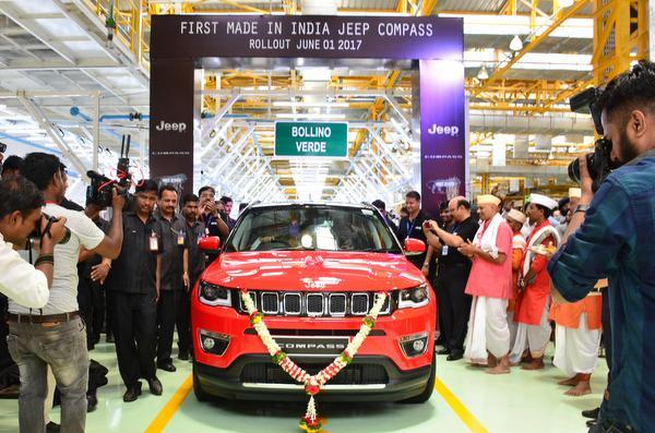 Indian manufactured Jeep Compass to be exported to South Africa