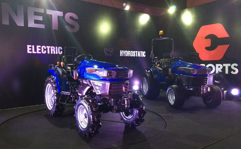 Escorts to roll out an electric tractor concept